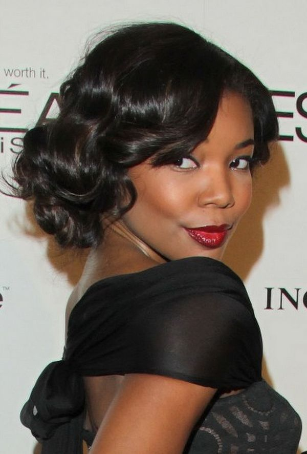 4. Wedding Hairstyle with Weave