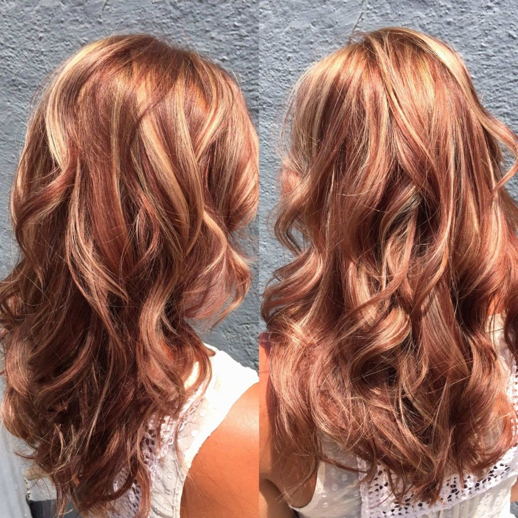 Fall Hairstyles with Highlight