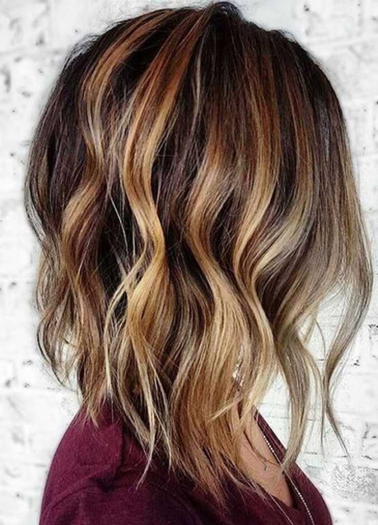 Fall Hairstyles with Color