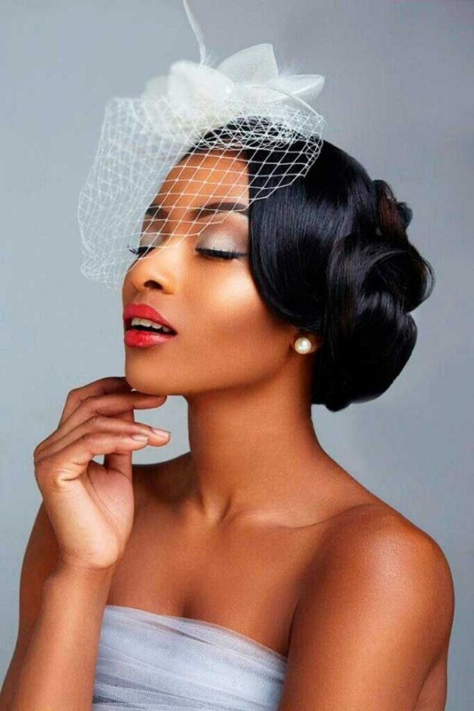 5. Wedding Hairstyle with Veil