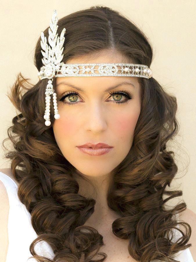 6. Long Hair with Headband
