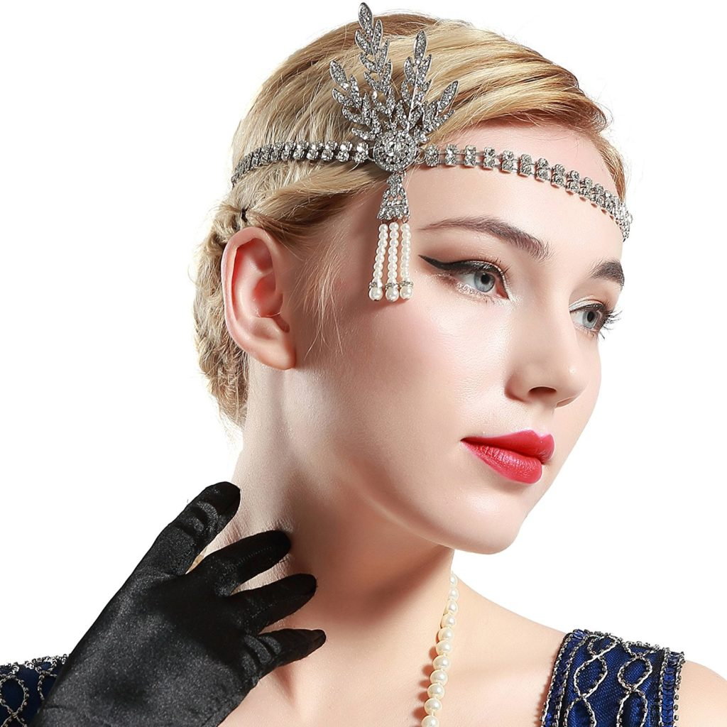 9. Great Gatsby Inspired Hair