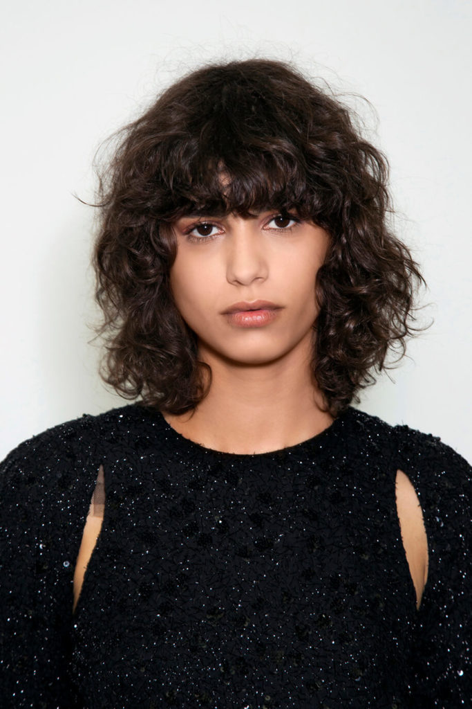 Curly Hairstyles With Bangs