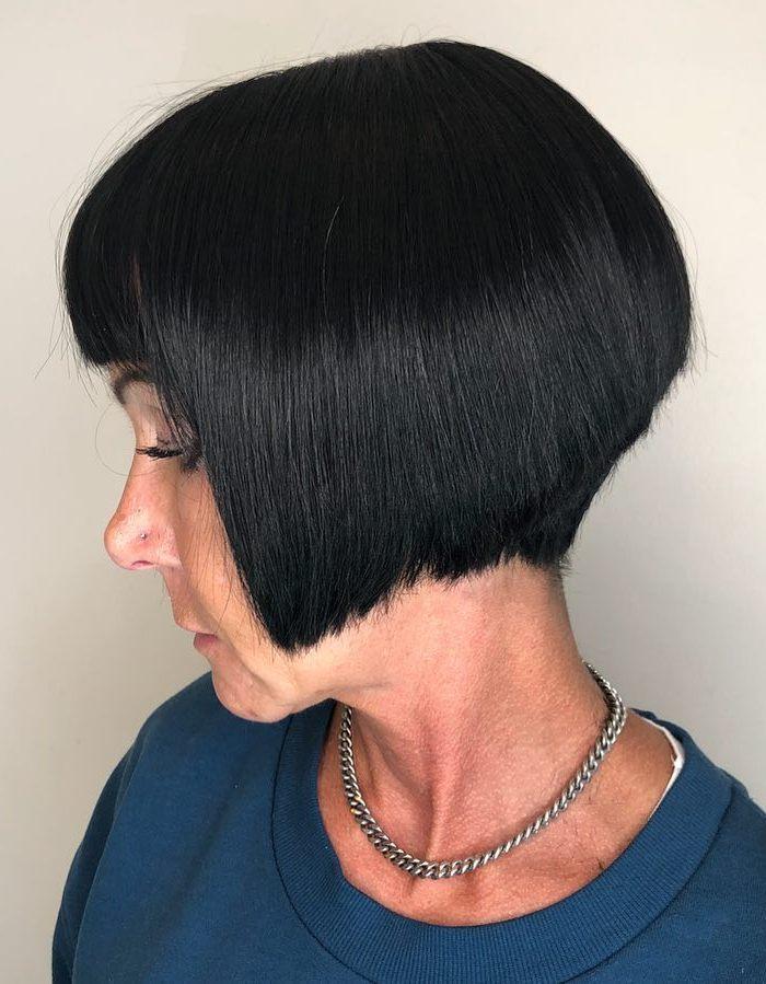 Stacked Bob Haircuts