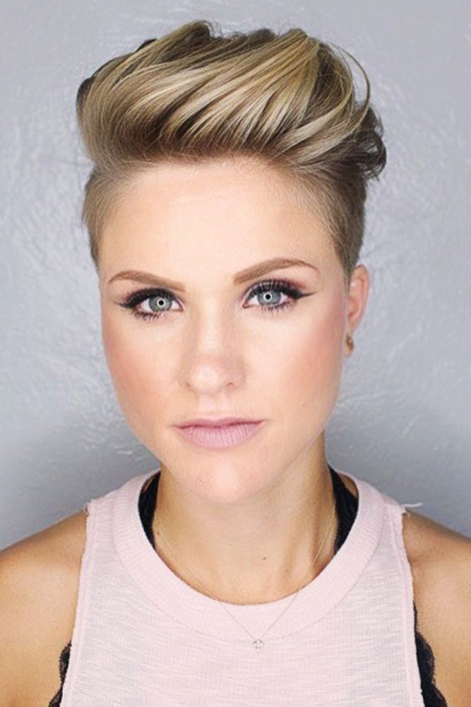 25 Fade Haircuts For Women Go Glam With Short Trendy Hairstyles Like Never Before Haircuts Hairstyles 2021