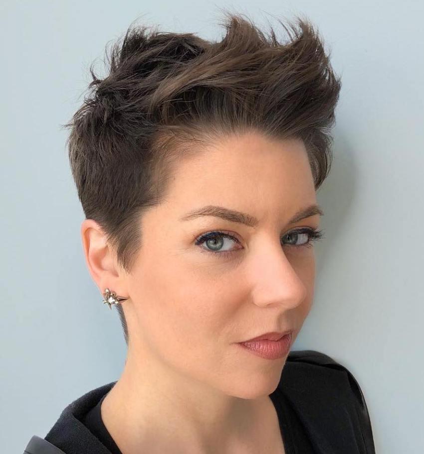 Androgynous Haircut