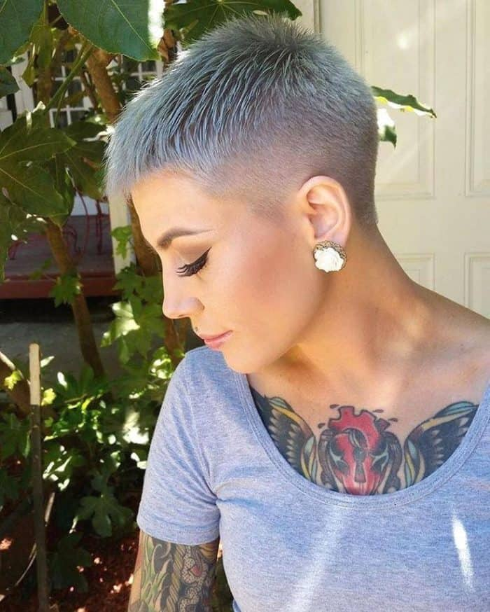 25 Trendiest Shaved Hairstyles For Women Haircuts Hairstyles 2021