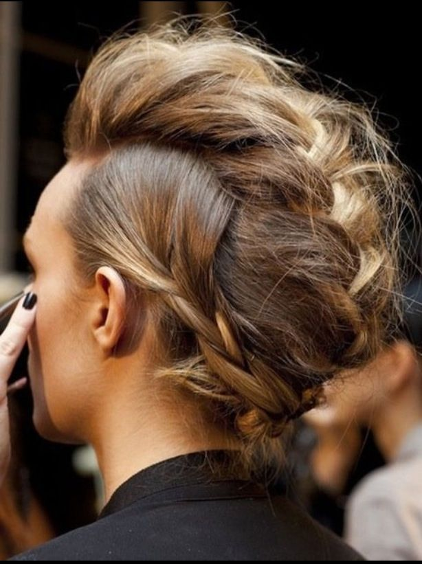 20 Braided Mohawk Hairstyles For Women Haircuts Hairstyles 2021