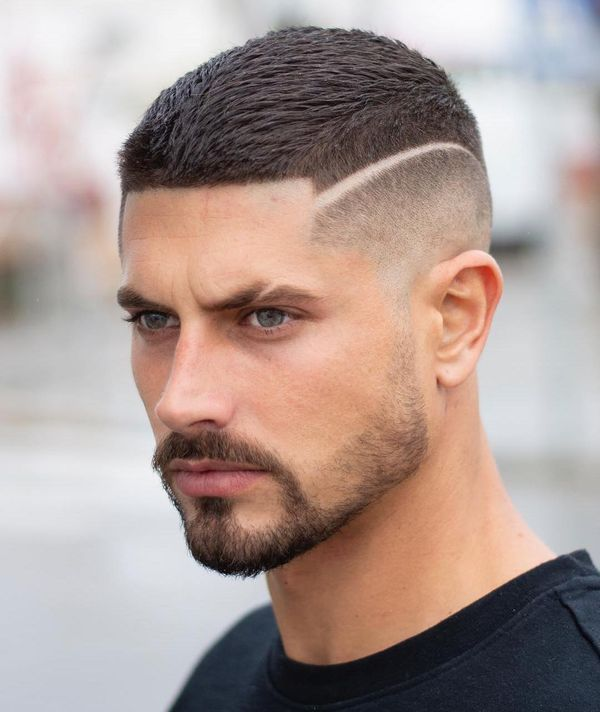 21 Most Dynamic And Dashing Crew Cut For Men Haircuts Hairstyles 2021