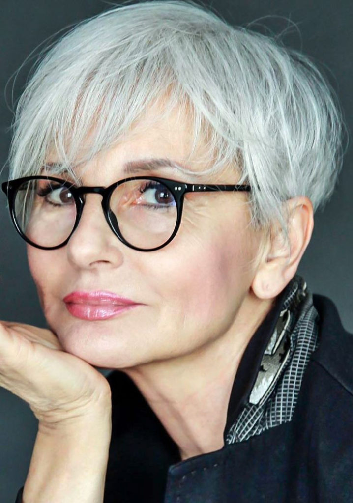 21 Glamorous Grey Hairstyles For Older Women Haircuts Hairstyles 2021
