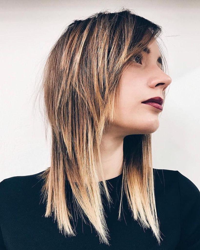 Modern Shag Haircut
