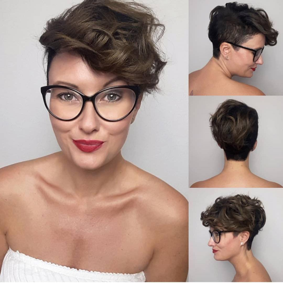 Pixie Cut for Wavy Hair