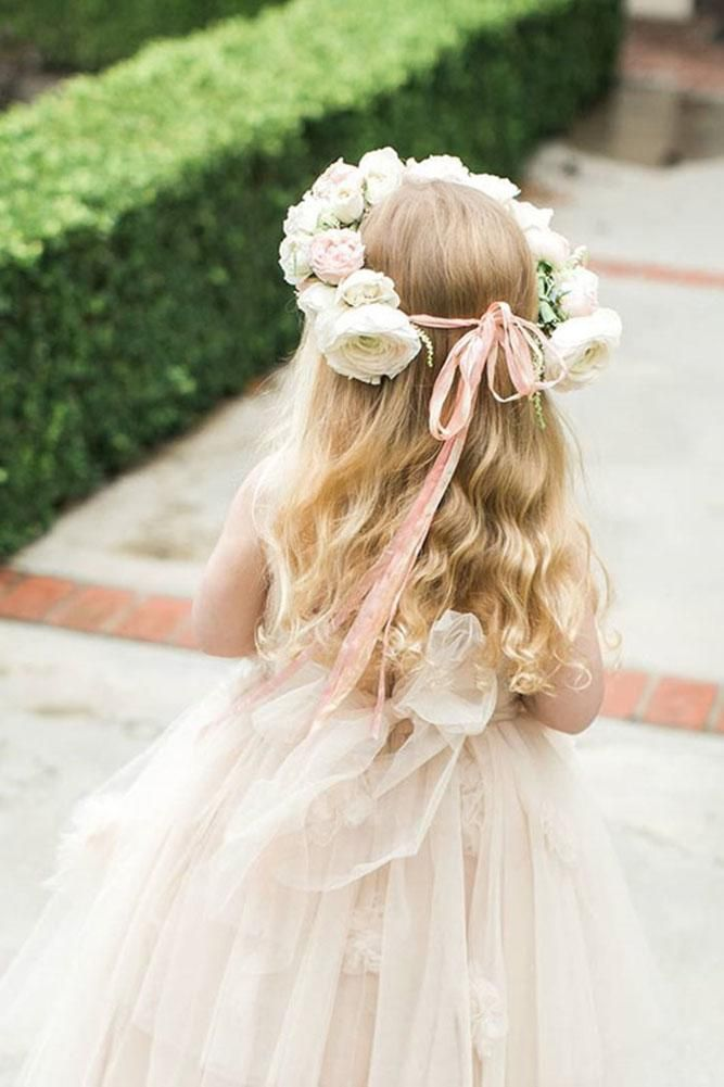 Flower Girl Hairstyle