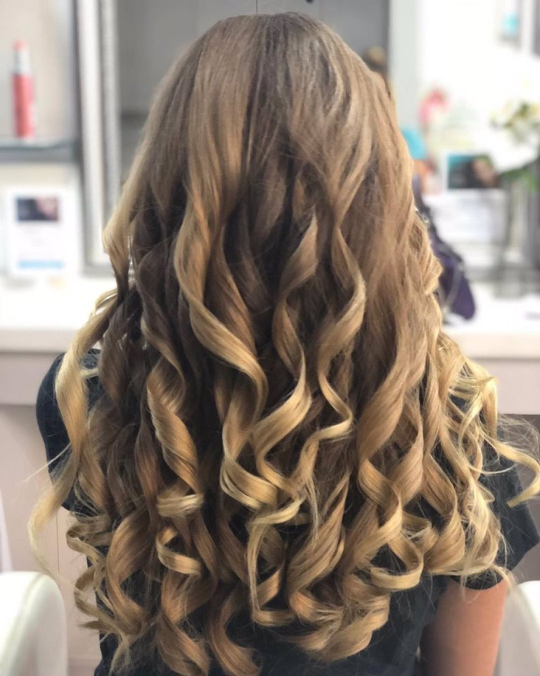Long, Classic Curls