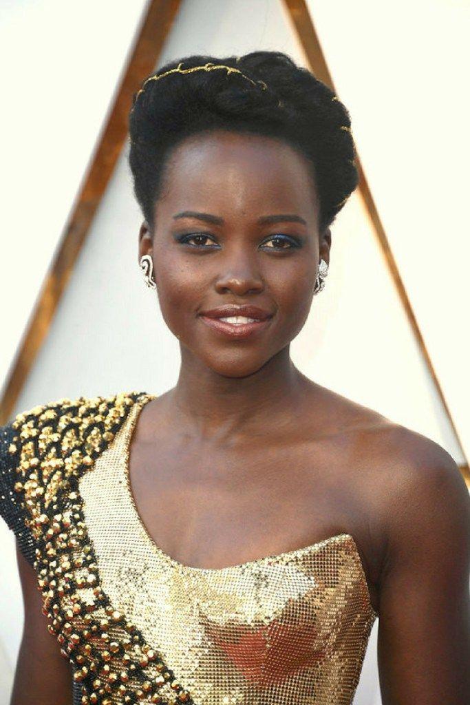 Lupita Nyong'o Hairstyle