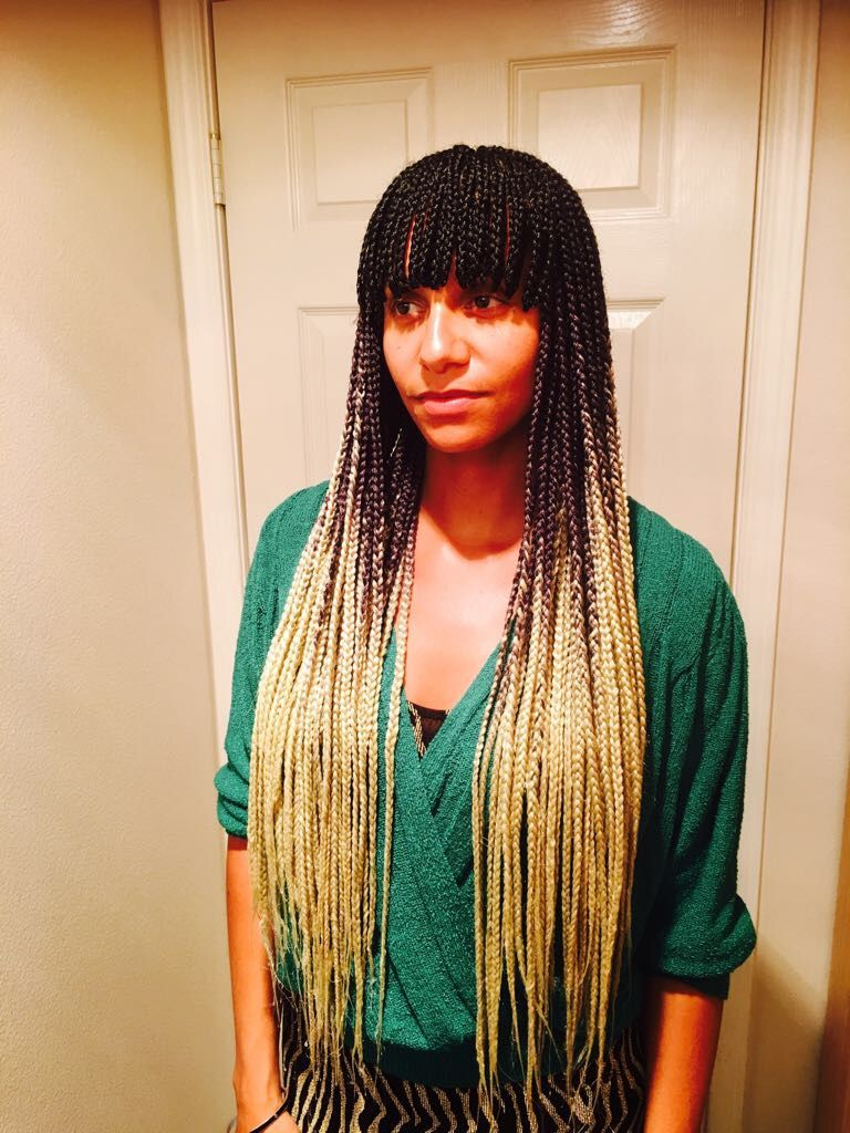 Braids with Bangs