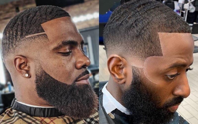 Low Bald Fade for Black Men