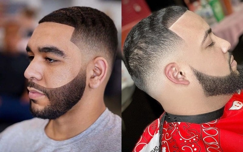Low Bald Fade with Waves