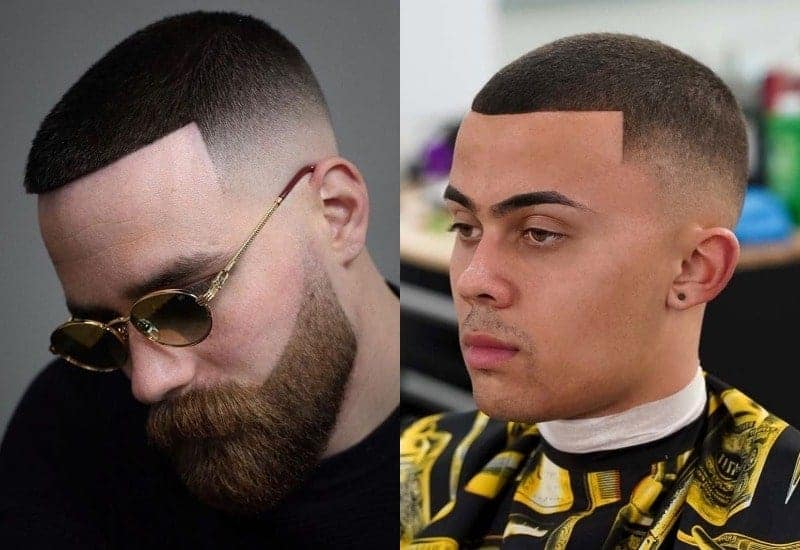 Low Bald Fade on Buzz Cut